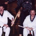Grand Master Park Breaking a Baseball Bat